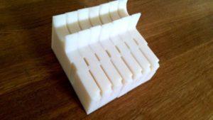 Wycinanie cnc elementów z poliamidu