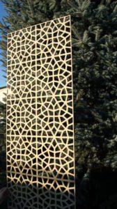 Panel ażuroway frezowany w mdf
