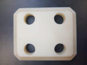 Frezowanie i wiercenie cnc poliamidu