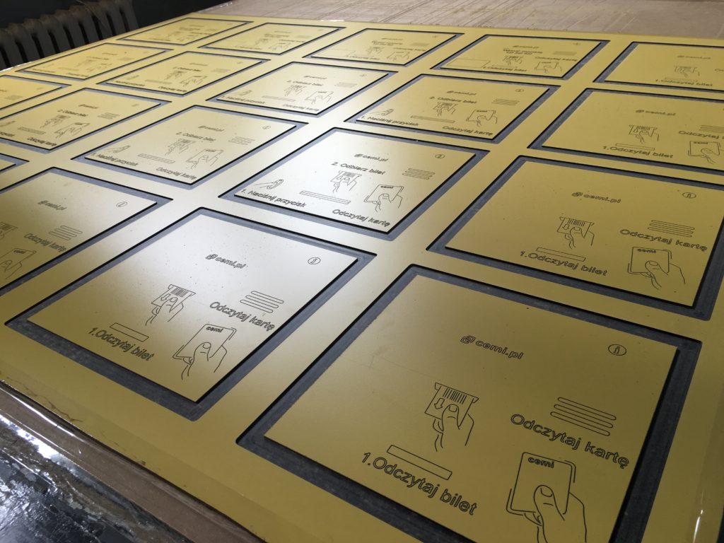 Frezowanie CNC płyt HPL 10mm