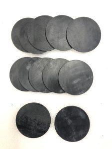 Cięcie i frezowanie gumy