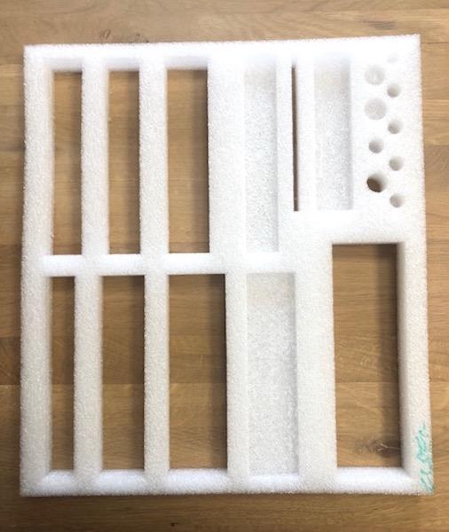 frezowanie cnc pianki