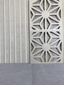 Panel ryflowany i azurowy mdf barwiony w masie