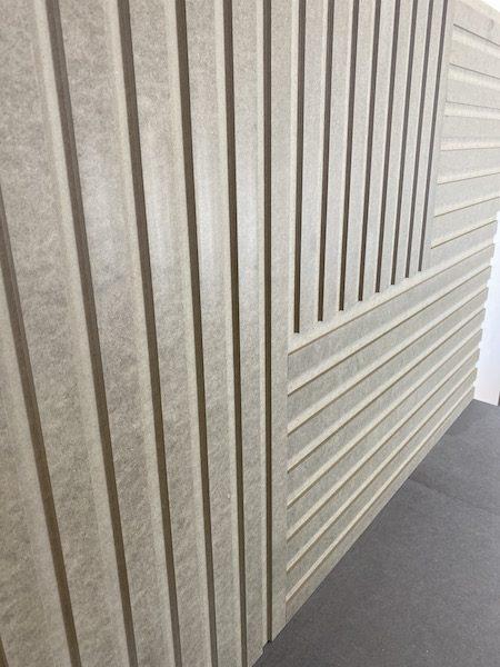 Panele dekoracyjne z mdfu ryflowanego