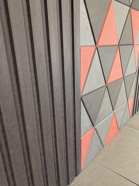 Panele 3D ryflowane i kolorowe
