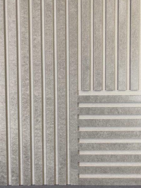 Panele ryflowane dekoracyjne z mdfu frezowanego metoda cnc