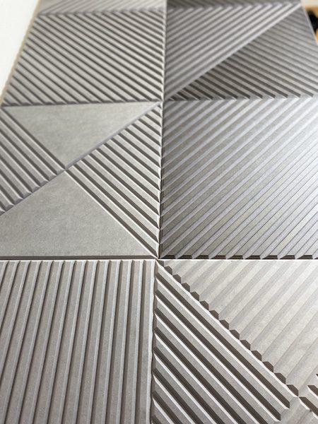 Panele ryflowane v-bitem mdf barwiony w masie
