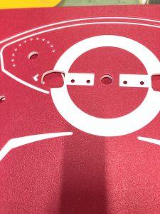 Frezowanie płyty hdpe na plac zabaw
