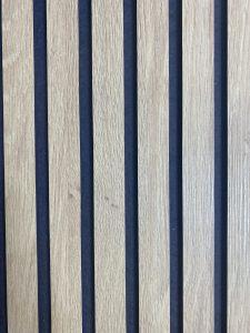 Ryflowany panel mdf laminat dębowy